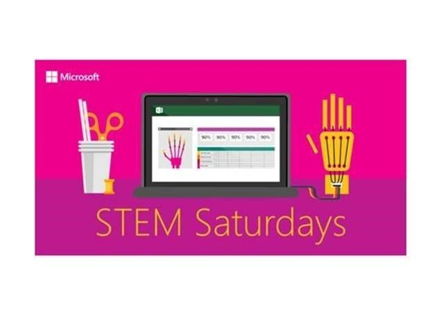 STEM Saturdays from Microsoft
