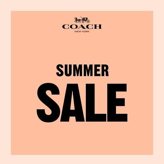 Enjoy up to 50% off select styles from Coach