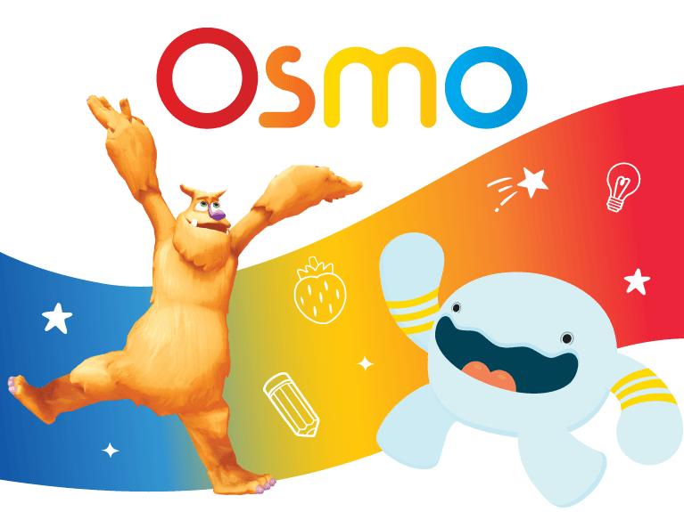 two animated Osmo figures