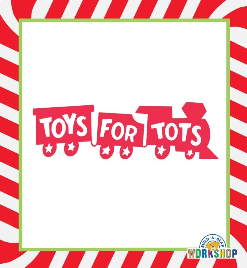 Build-A-Bear Workshop Teams Up With Toys for Tots! from Build-A-Bear Workshop
