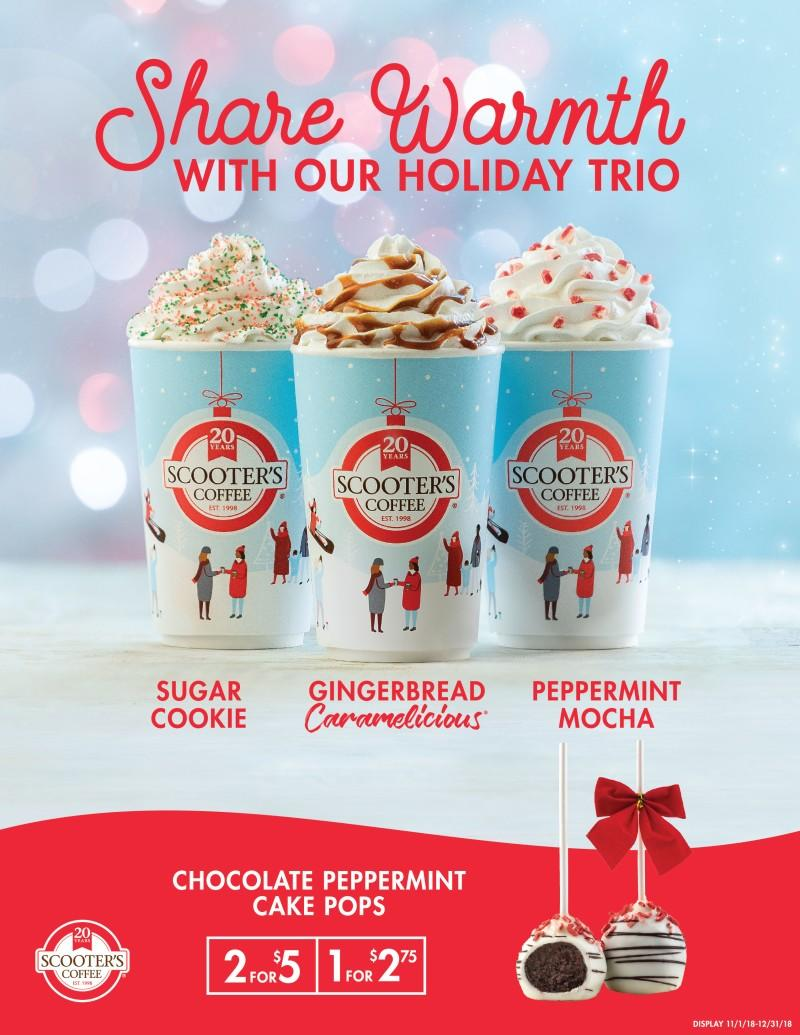 Holiday Trio from Scooter's Coffee