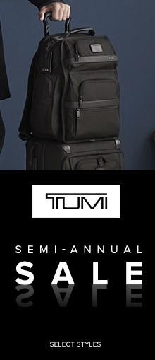 TUMI  Semi-Annual Sale   valid 11/15-12/31