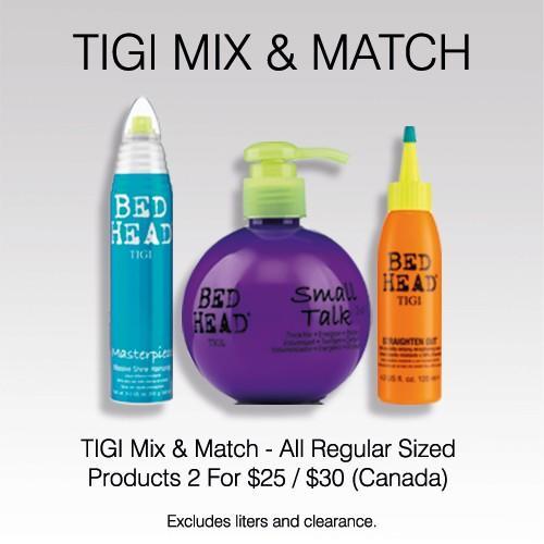 TIGI MIX & MATCH from Regis Salon