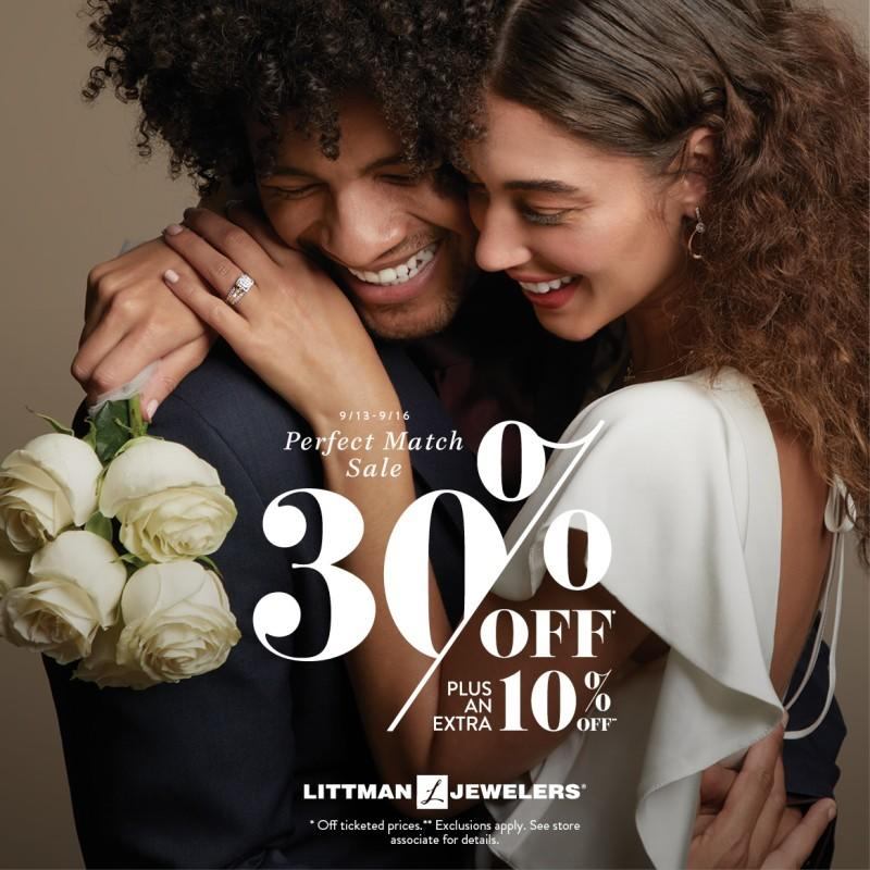 Perfect Match Sale! from Littman Jewelers