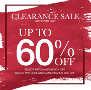 60 % Off Clearance Sale