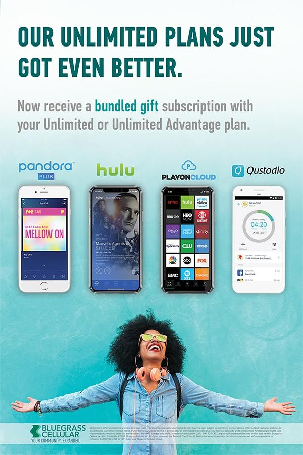 Bundle a Gift Subscription from Bluegrass Cellular