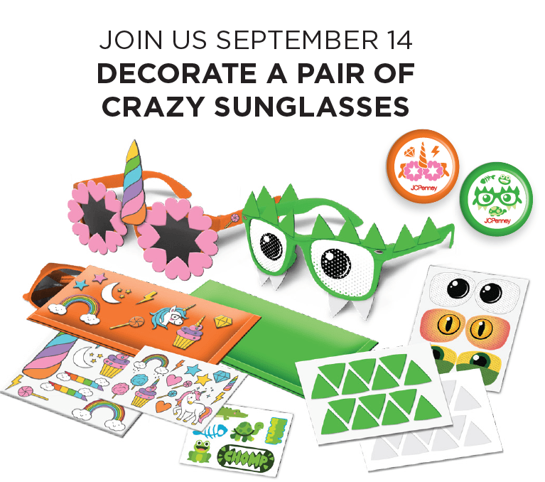 JC Penney Kids Zone September Event