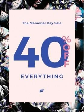 Memorial Day Sale - 40% off EVERYTHING from Fabletics