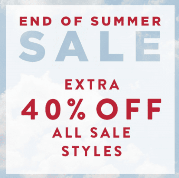 End of Summer Sale from J.Jill