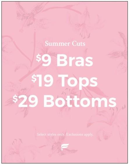 Summer Cuts Sale from Fabletics