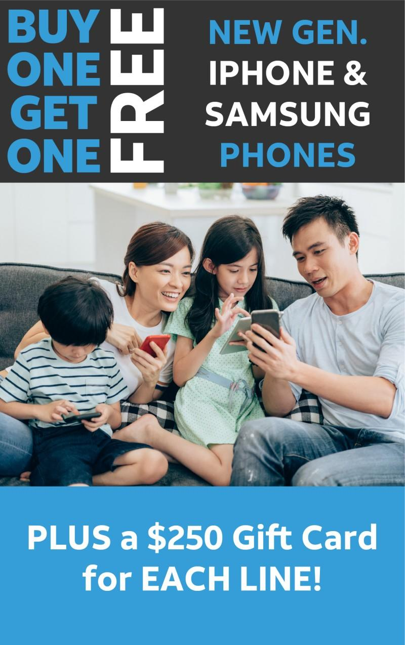 Whole family need new phones?
