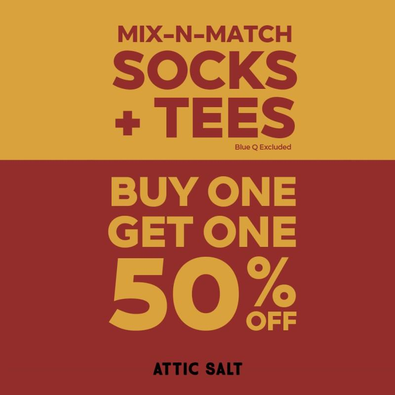 Buy One, Get One 50% Off from Attic Salt
