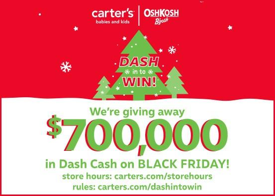 Dash In to Win Sweepstakes