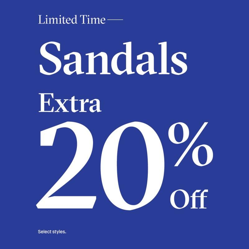 Extra 20% off from ALDO Shoes