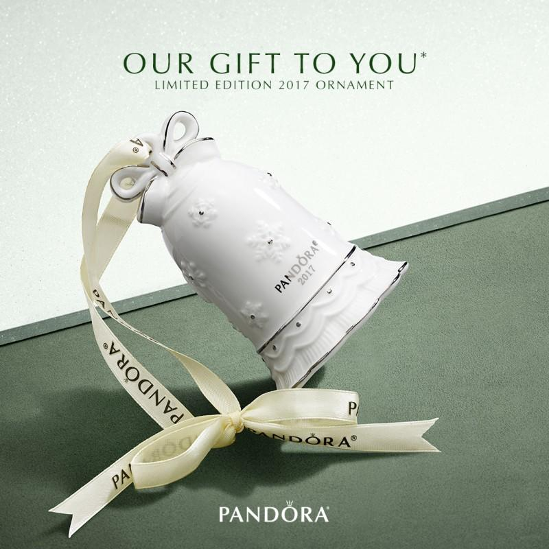 Receive a beautiful limited edition porcelain ornament FREE with your $125 PANDORA purchase!