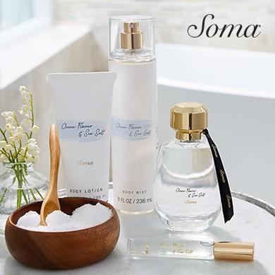 Soma New Fragrance Launch from Soma By Chico's