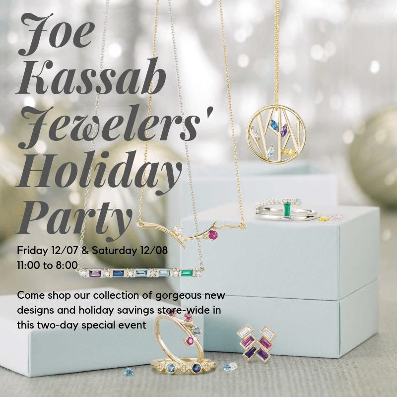 Joe Kassab Jewelers Holiday Party
