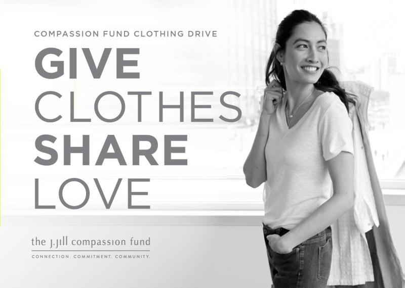 Compassion Fund Clothing Drive from J.Jill