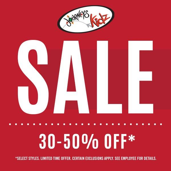 SPRING SALE! from Journeys Kidz