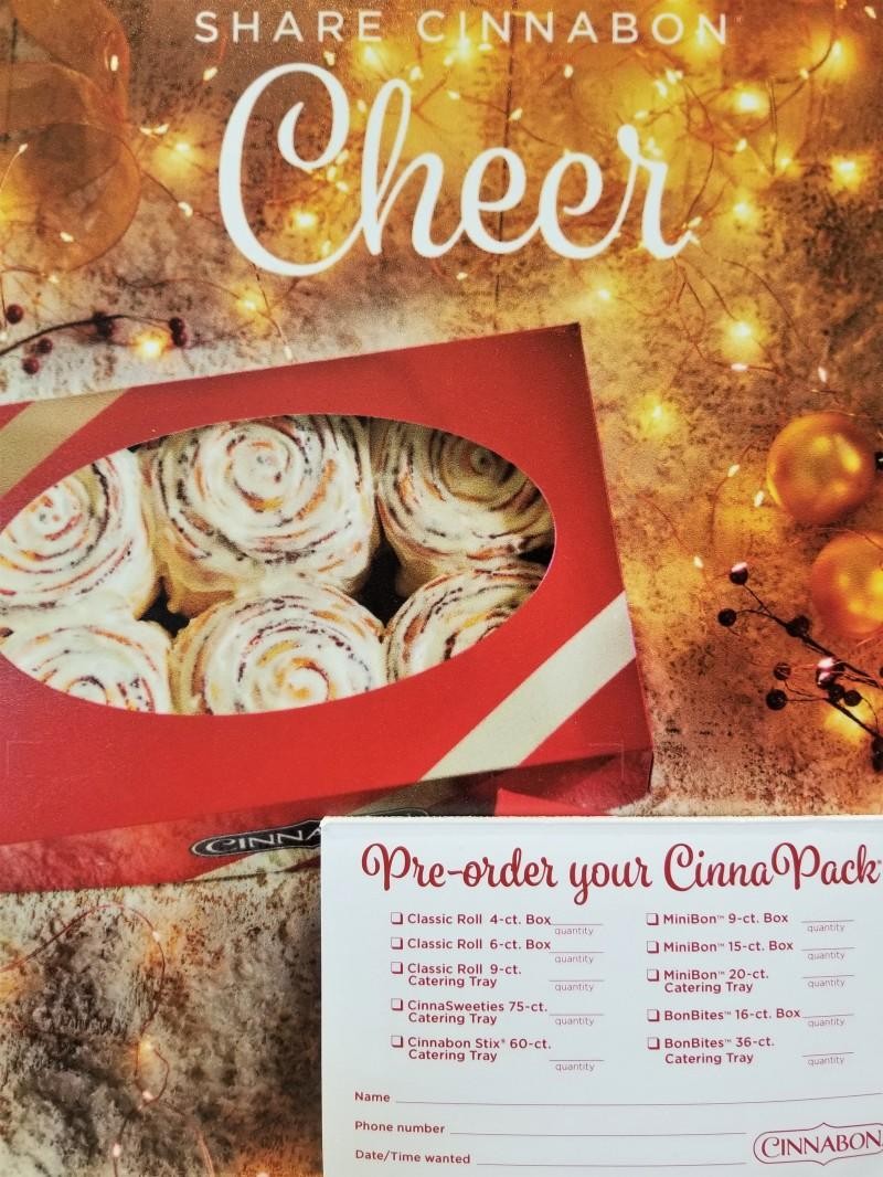 Pre-Order to Save 10% for the Holidays! from Cinnabon
