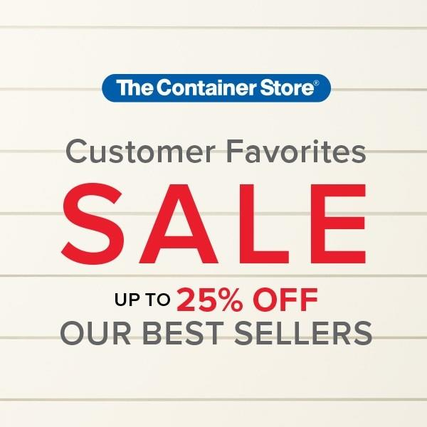 Customer Favorites Sale from The Container Store