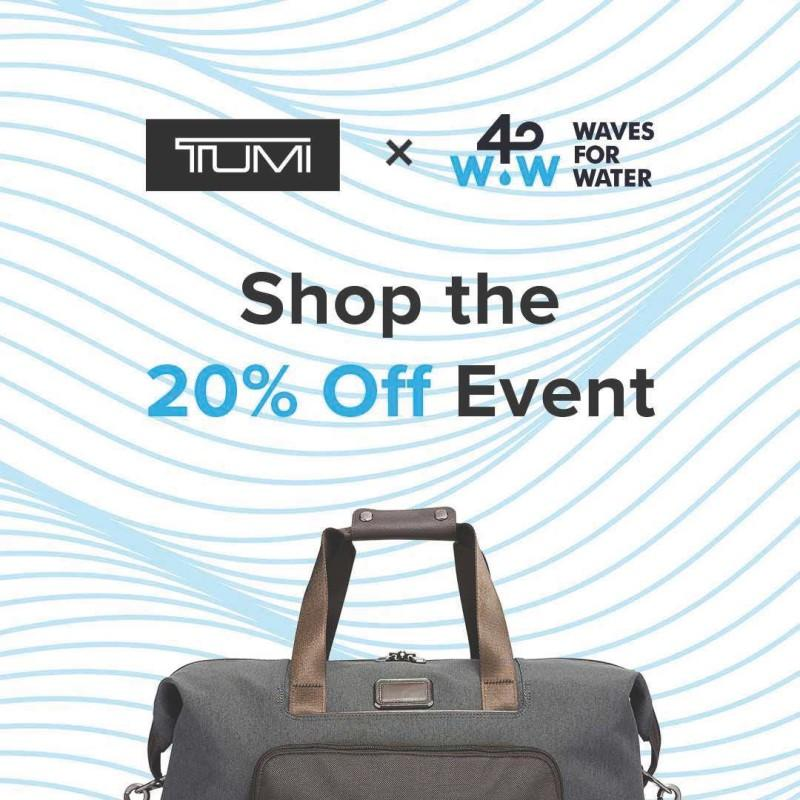 20% Off Sale from TUMI