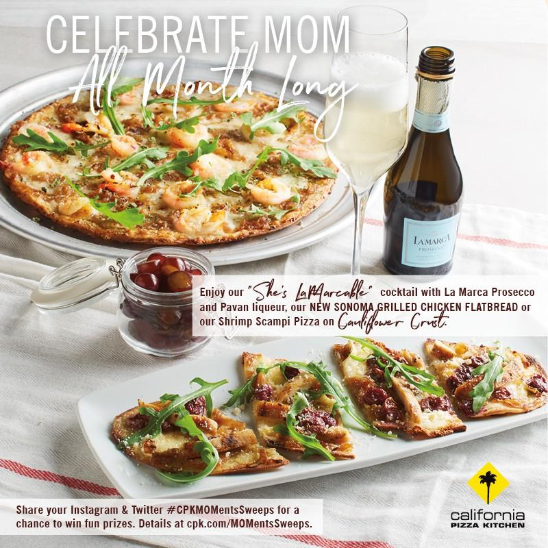 Sale at California Pizza Kitchen