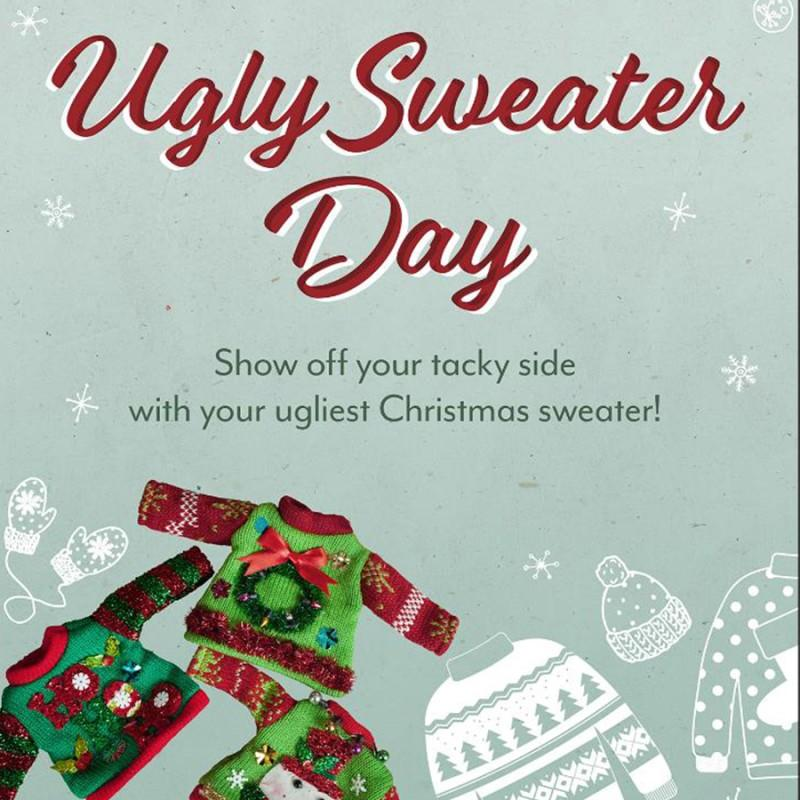 Ugly Sweater Night with Santa