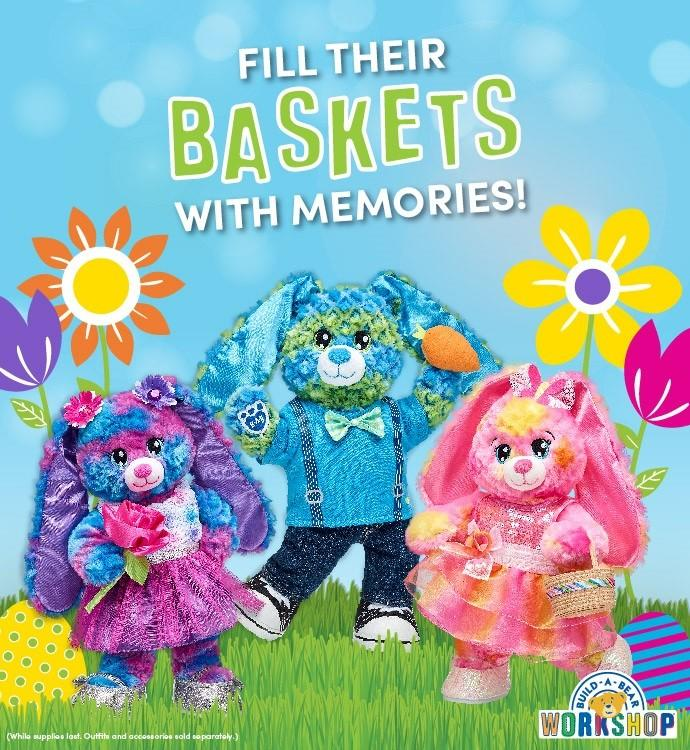 New Easter-rific Fun from Build-A-Bear Workshop