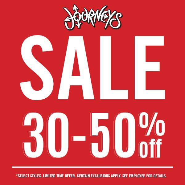 Summer Sale! from Journeys