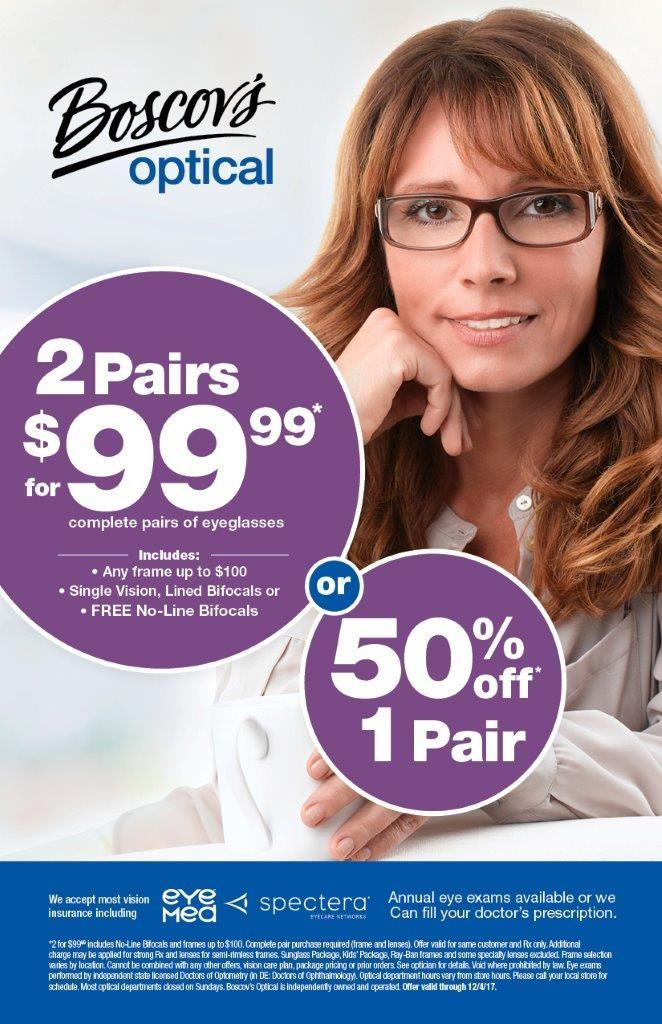 Boscov's Optical Sale