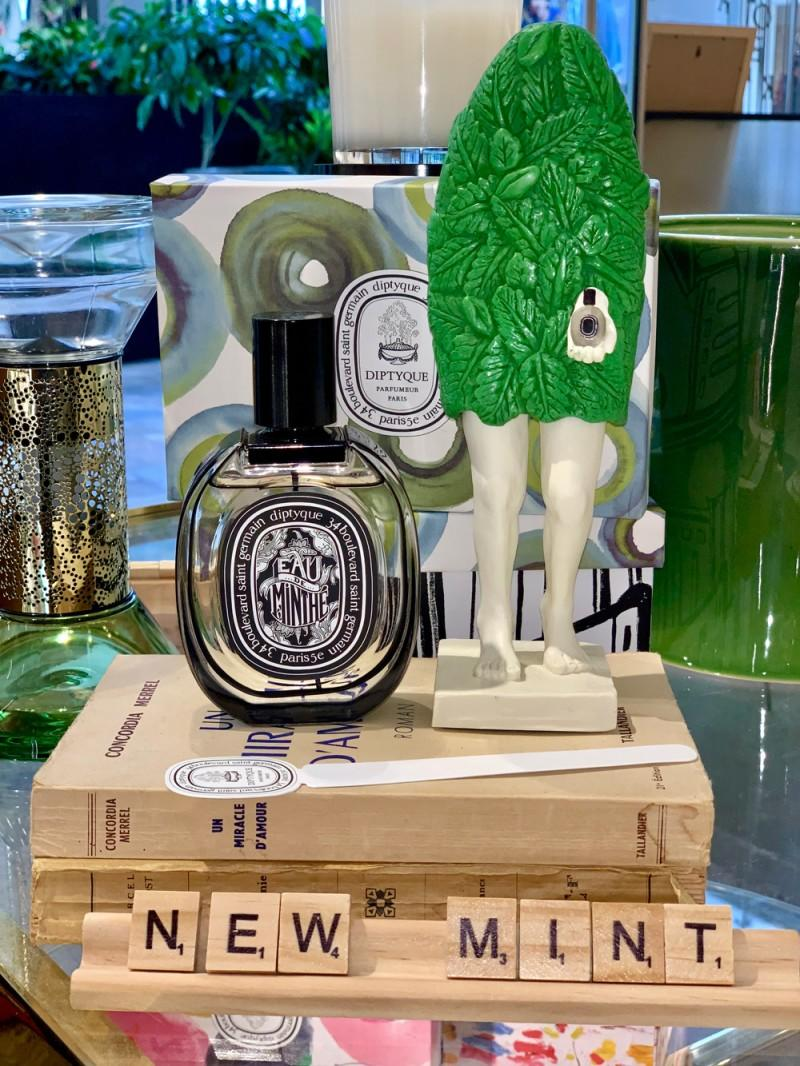 全新 EAU DE MINTHÉ 香水 from diptyque paris