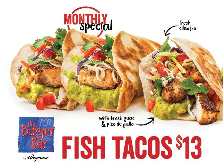 Fish Tacos from Wegmans Food Markets