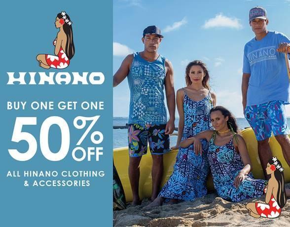 Buy One, Get One 50% Off Hinano from Hawaiian Island Creations