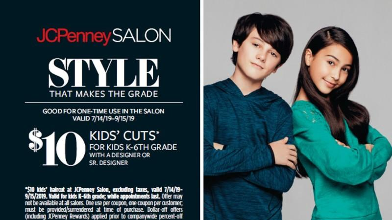 Kids' Cuts' from JCPenney Salon