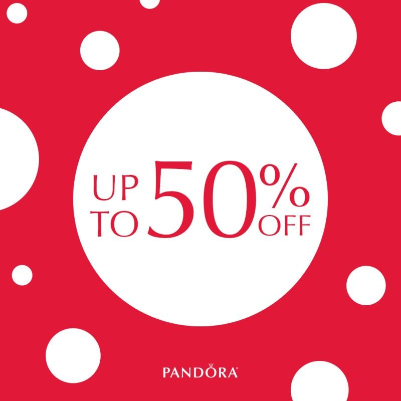 Save up to 50% on Pandora from Riddle's Jewelry