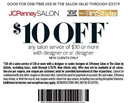 $10.00 off from JCPenney