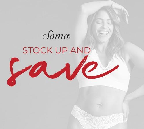 Special offer from Soma Intimates
