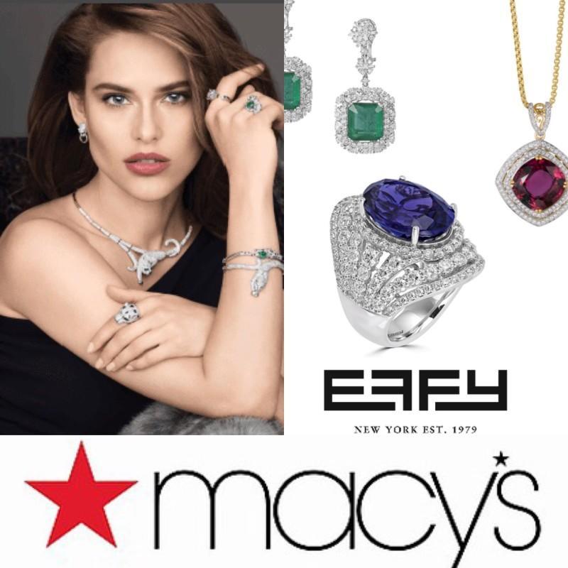 Effy Trunk Show in Macy's Jewelry Department