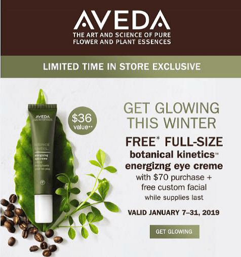 FREE Botanical Kinetics Energizing Eye Cream
