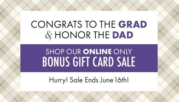 Bonus Gift Card Sale from Gene Juarez Salons