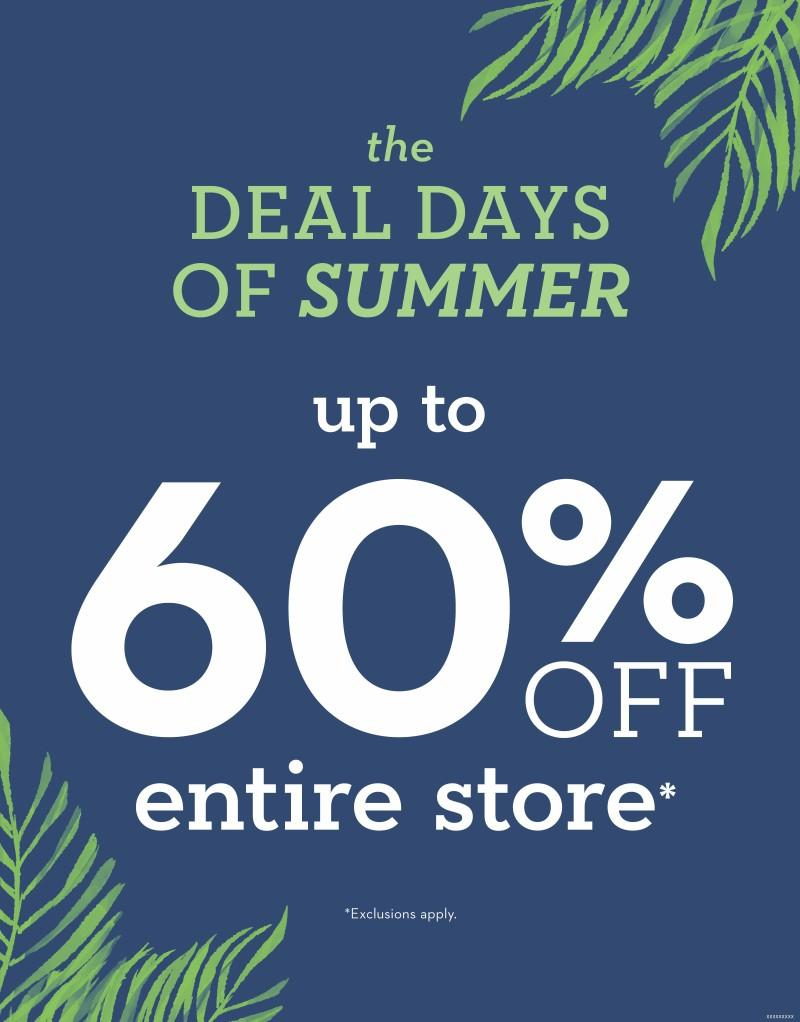 Deal Days of Summer from chico's