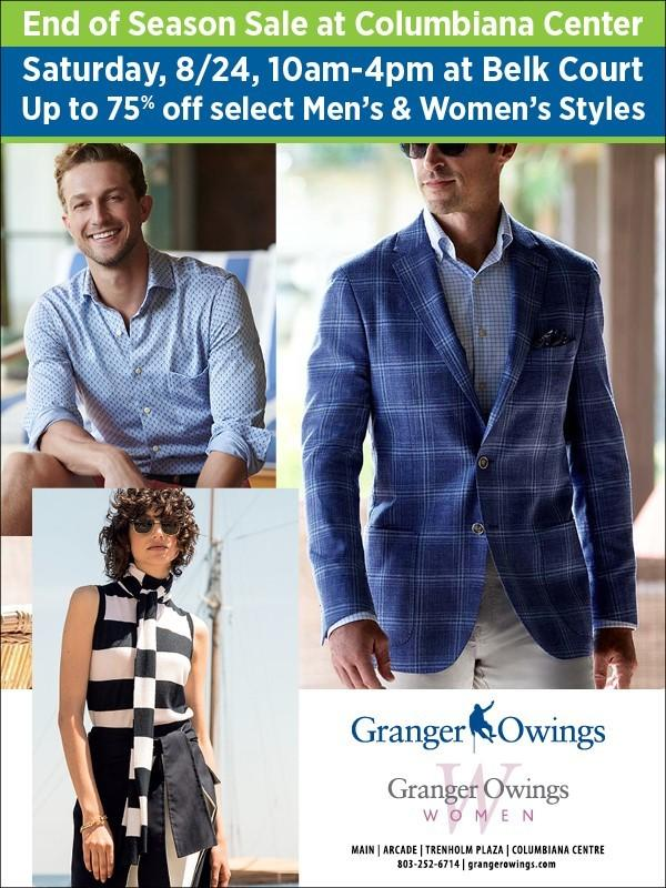 Up to 75% off Select Men's and Women's Styles from Granger Owings