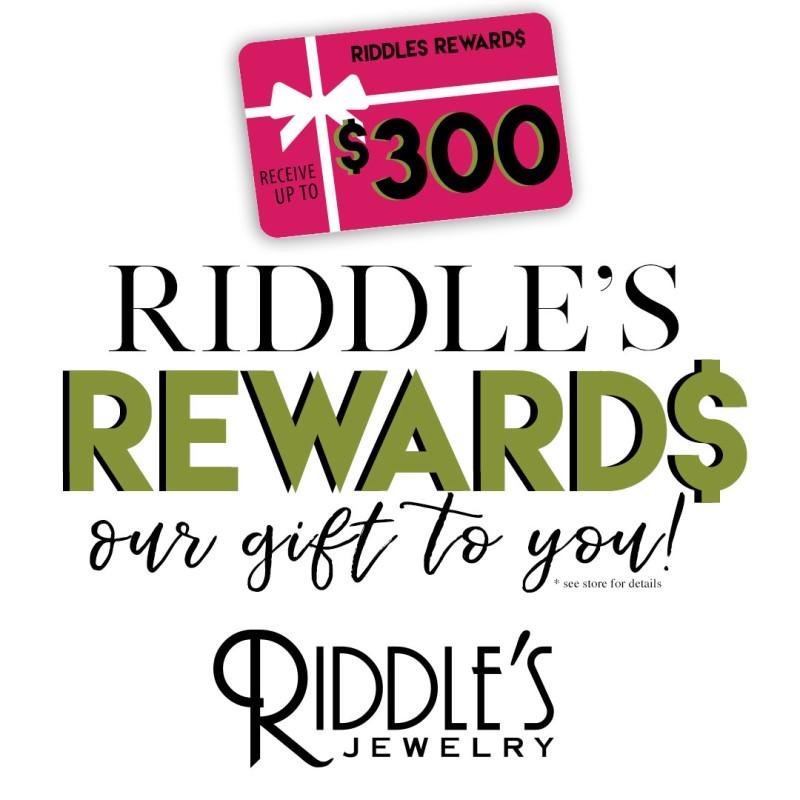Riddle's Jewelry Gold Tag Clearance Sale