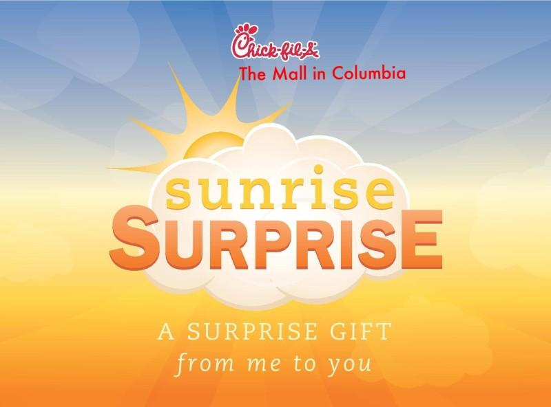 Sunrise Surprise from Chick-fil-A