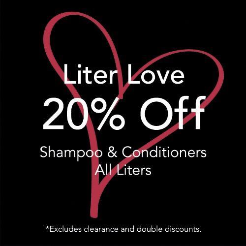 Liter Love - 20% off from Regis Salon