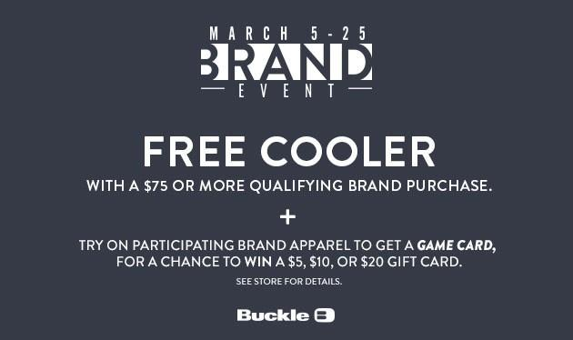 Brand Event at Buckle from Buckle