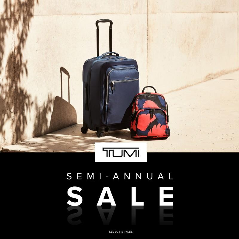 Join Tumi for their Semi-Annual Sale! from TUMI