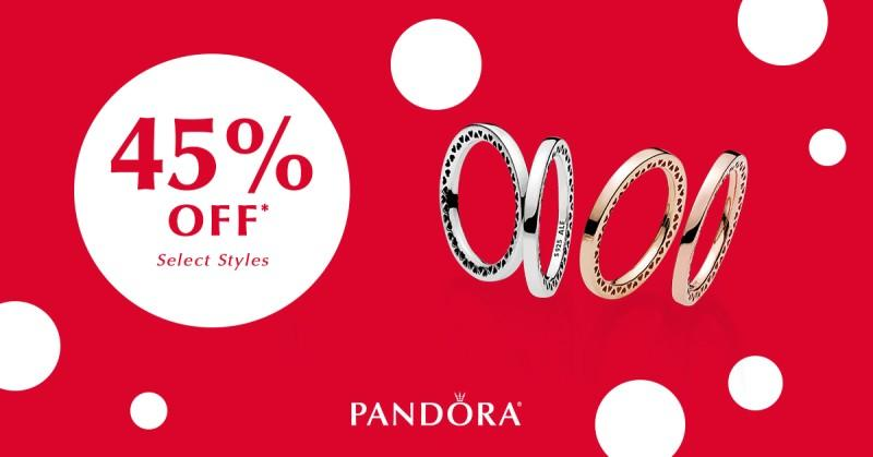 45% OFF – SELECT STYLES
