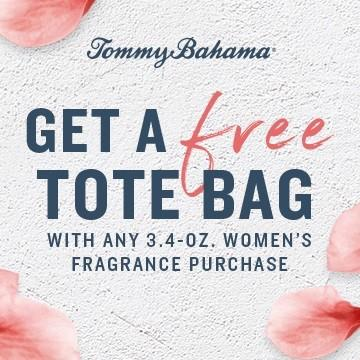 GET A FREE TOTE BAG from Tommy Bahama